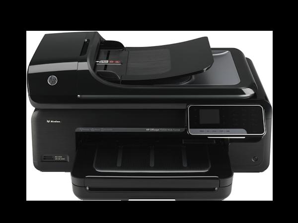 test de l 39 imprimante a3 hp officejet 7500a imprimantes. Black Bedroom Furniture Sets. Home Design Ideas