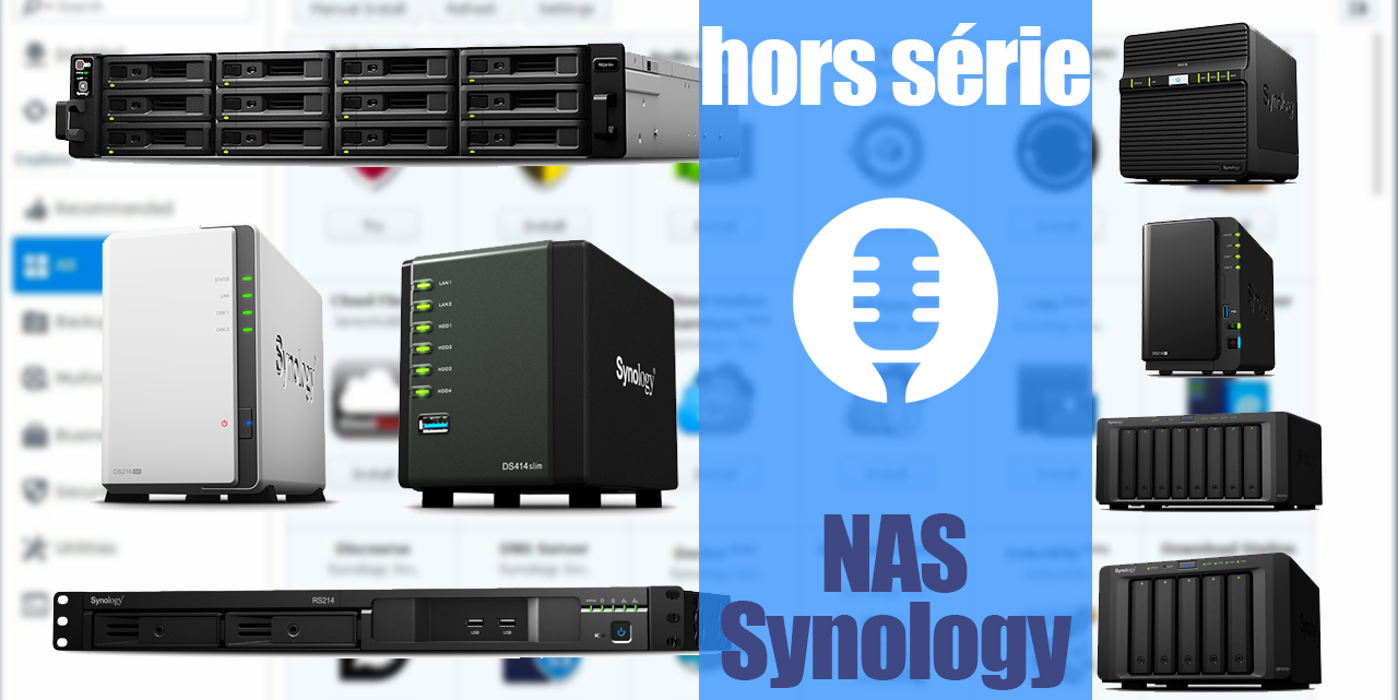 Les Technos HS Synology