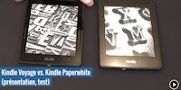 Test de la Kindle Voyage