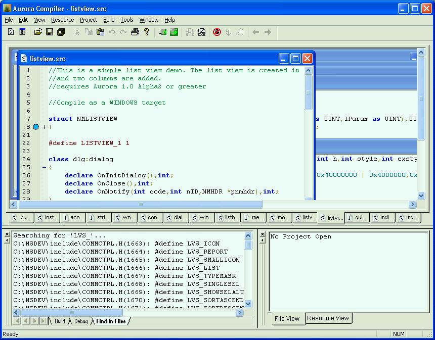 Aurora Compiler 1 0-RC5 - Informaticien be
